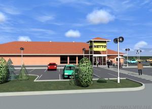 Укрдизайнгруп udg архітектурне проектування  Торговий центр  НЕТТО