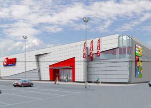 Укрдизайнгруп udg архітектурне проектування  Торговий центр «Арсен»
