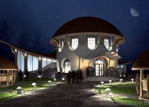 Ресторан у Брюховичах Укрдизайнгруп udg архітектурне проектування