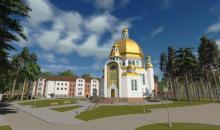 Храм Отців Василіян Укрдизайнгруп udg архітектурне проектування